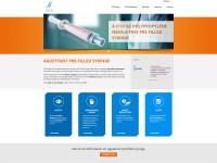 AguettantPfs, site vitrine wordpress multilangue