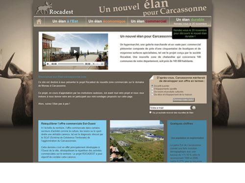 élan carcassone site communication