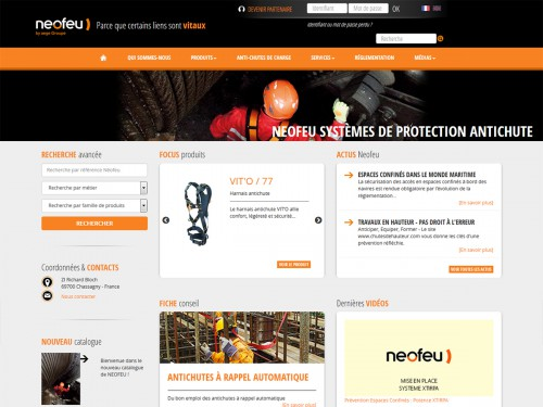 Neofeu, administrable, multilangue symfony2