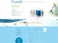 Proteo, site vitrine responsive et parallax