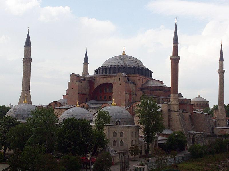 Voyage à Istanbul : mosquée Sainte Sophie